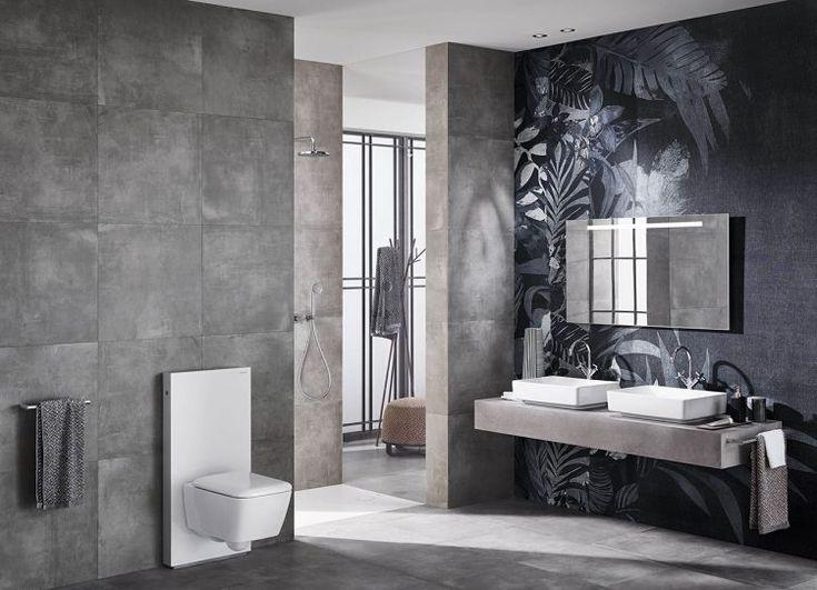 Badezimmer wandfarbe ~ Die besten 25 schwarzes bad waschtische ideen auf pinterest