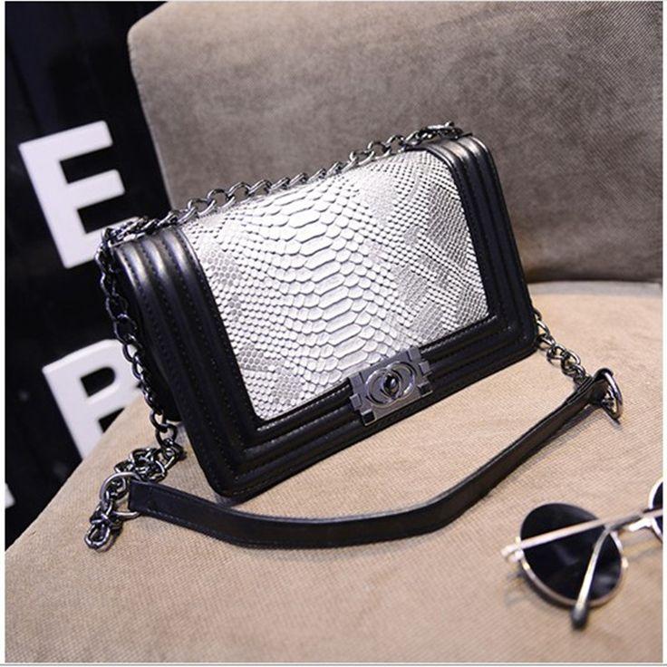 Кошельки и сумки мода кроссбоди сумки для женщин известный бренд плед цепи черные мешки посыльного завод купить на AliExpress