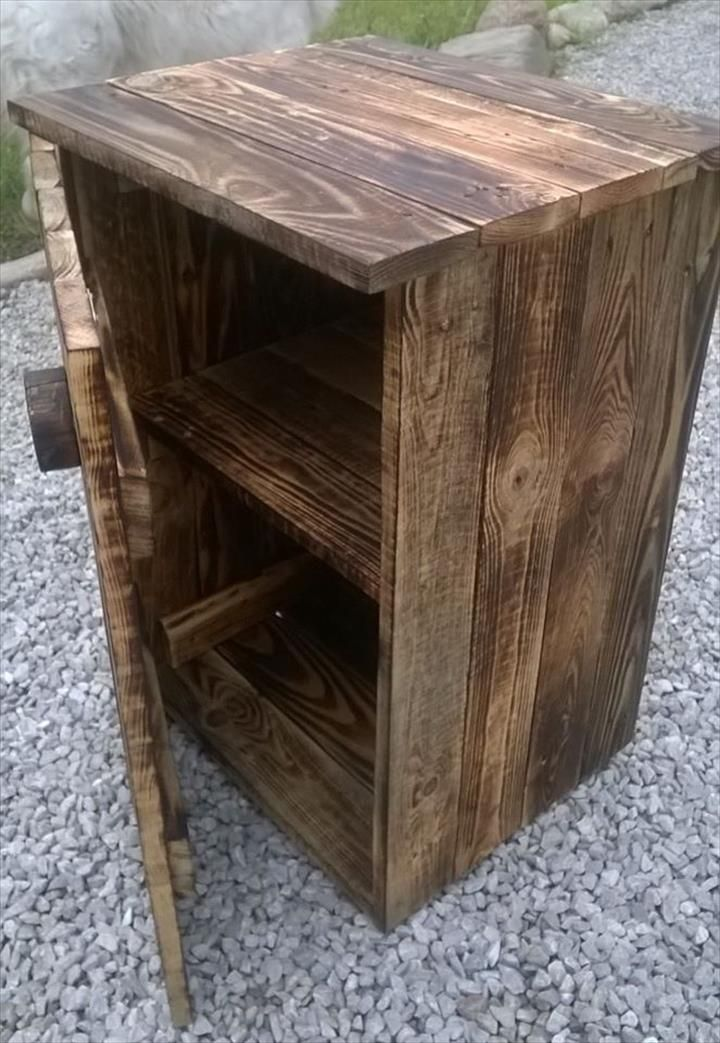2242 best pallets pickets tobacco sticks images on for Build your own nightstand