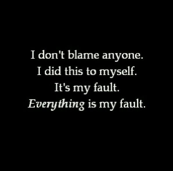 I admit it's all my fault... All of it....just wanna say I am broken... Need you to listen to me just once