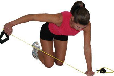 Shoulder Exercises - Rear Delt Raises with a Resistance Band