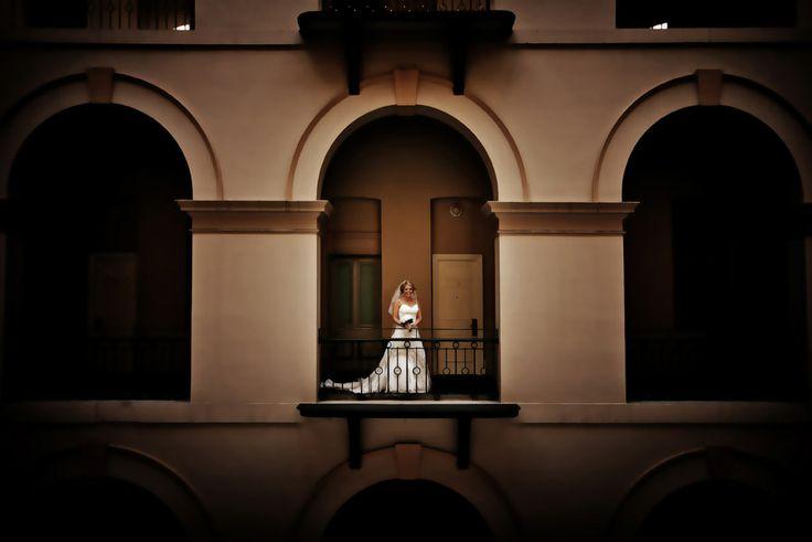 Bride + arches