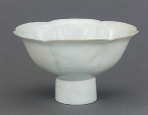 Song dynasty footed bowl, found in a Koryo dynasty (Korea) tomb.