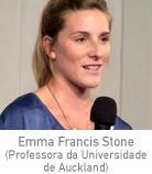 Emma Francis Stone (Professora da Universidade de Auckland)