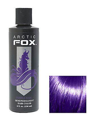 Arctic Fox Semi-Permanent Purple Rain 8 oz. Hair Dye,