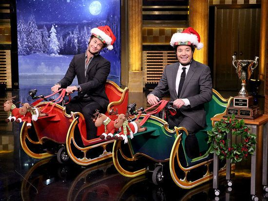 Ho, Ho, Ho? More Like Go, Go, Go! Chris Hemsworth Races Against Jimmy Fallon in a Scooter Sleigh Competition