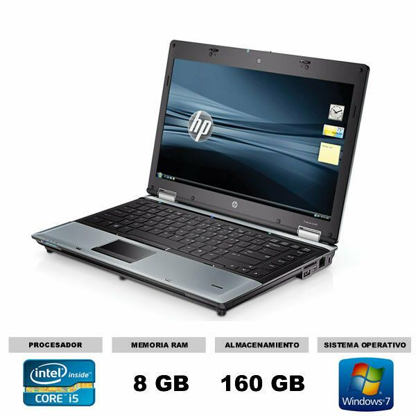 Ordenador Portatil Hp 8440p Core I5 24ghz 8gb 160hd Economico