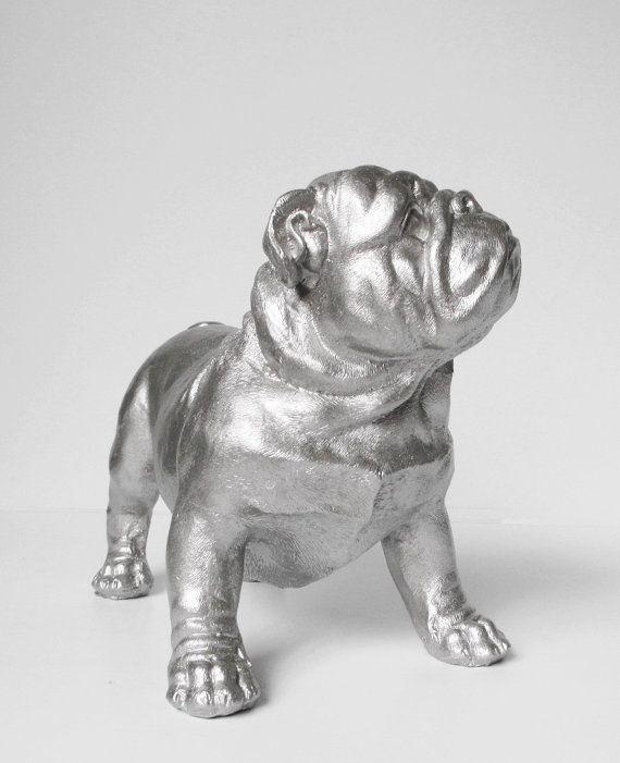 English Bulldog Silver