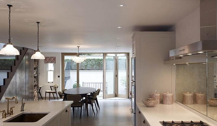 Luxury house kitchen holland park london 39 s best for Holland house design