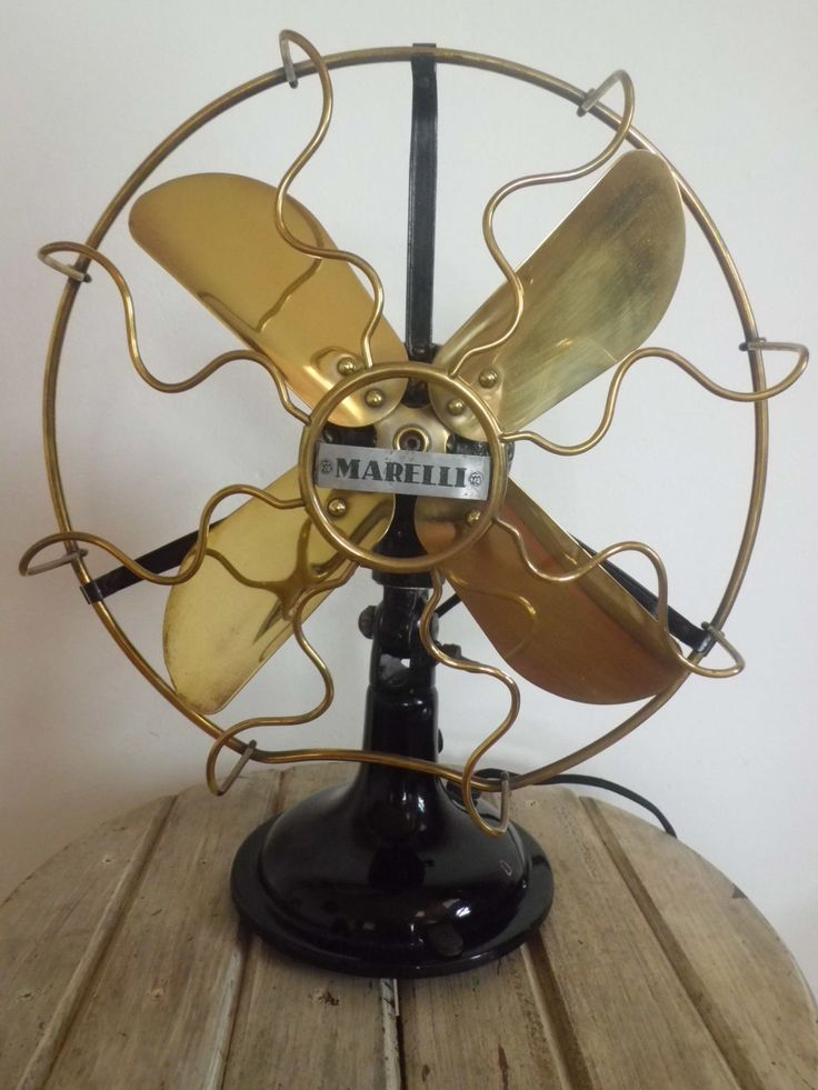 vintage electric fan. antique vintage marelli 0.25 electric fan 10 inches revised f
