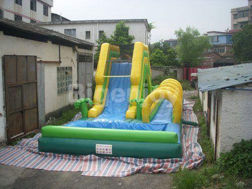 Water Slide with Slip n Pool