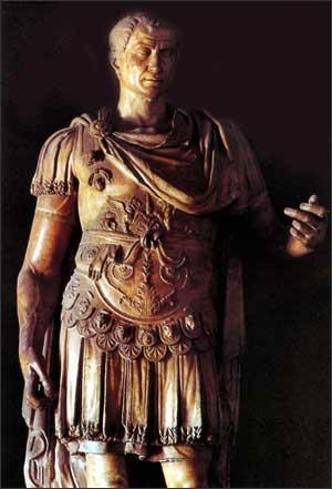 Wealthier Romans had the money to decor themselves with shiny expensive armor and fabrics