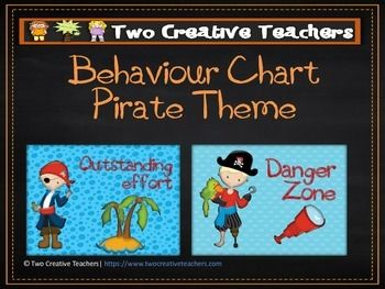 Two Creative Teachers - Pirates Theme Behaviour Management Chart This product contains posters that include the words: outstanding effort, awesome job, great work, ready to learn, stop and think, danger zone, teacher choice and parent contact. If you like the theme and have different words in mind, please email us and we can adapt and send you a copy.How To Use This Resource:Display this in the classroom or hang it in the room.