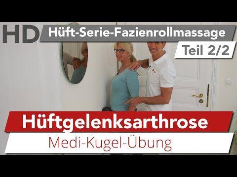 Hüftschmerz Übung (Hüftarthrose) // Entlastung für Gesäß & Hüftbeuger - YouTube