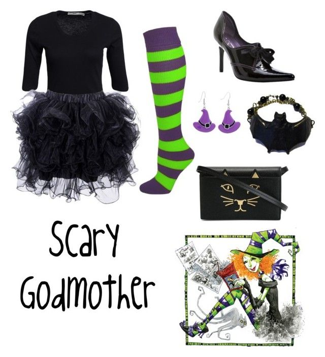 """""""Scary Godmother"""" by krusi611 ❤ liked on Polyvore featuring Hope, Ellie and Charlotte Olympia"""