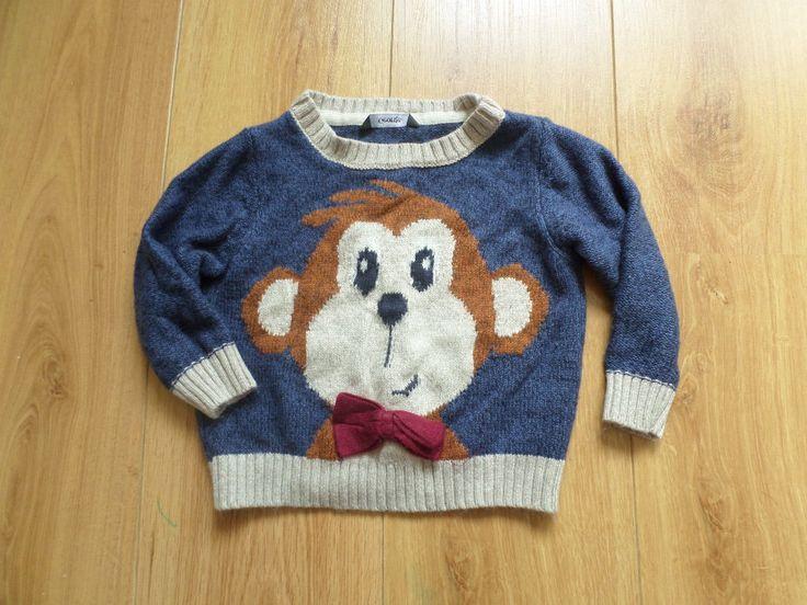 Śliczny #sweterek #małpka  Rozm.92 będzie idealny na zimowe dni.  #Dzieciociuszek #ubranka #dladzieci #moda #mama #wie #najlepiej #maluch #ciocie