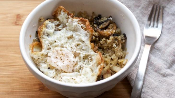 wild mushroom soup with sherry thyme quinoa mushroom pilaf mushroom ...