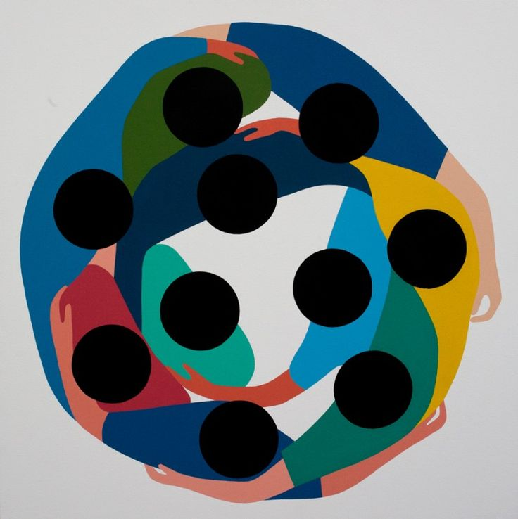 <p>You should already know artist Geoff McFetridge for his work with The New York Times, Colette or Nike. His very graphic signature style of pastel colors and simple shapes made him famous in the gra