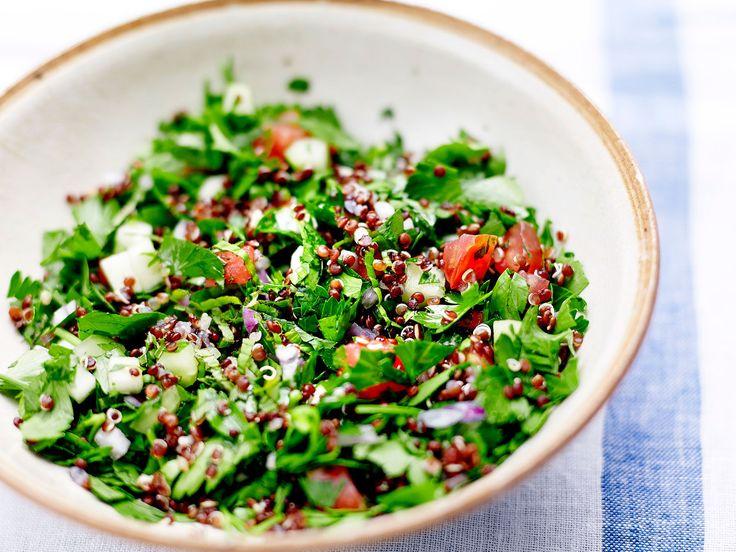 Taboulé libanais quinoa, facile et pas cher