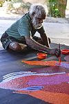About Yannima Tommy Watson - Facts and biography - Painter- Australia   UpClosed