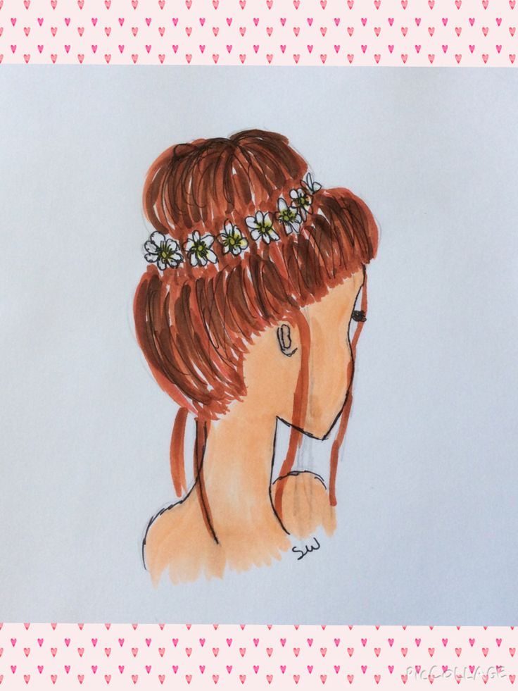 Heres one of many hairstyle drawings by moose