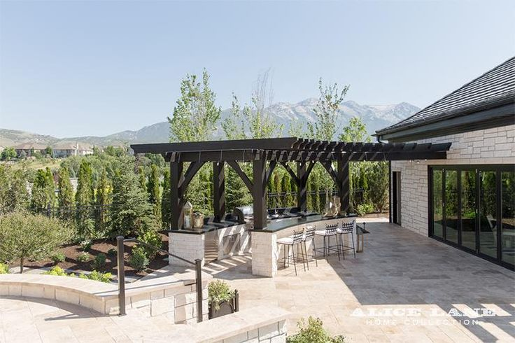 Top 15 Stunning Kitchen Design Ideas Plus Their Costs: 17 Best Ideas About Curved Pergola On Pinterest