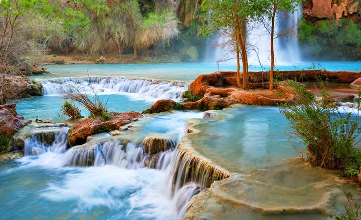 The Havasupai Waterfalls, Grand Canyon, Arizona | Exotisiv