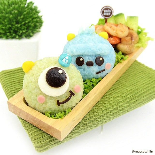Mike & Sulley bento