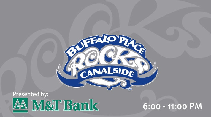 Buffalo Place Rocks Canalside - Summer concert series!