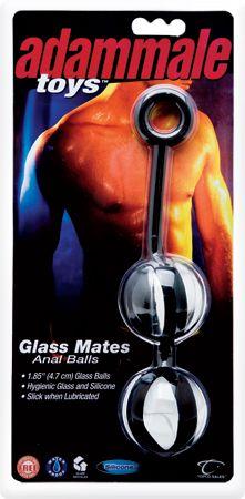 Glass Mates Anal Balls