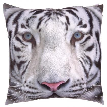 #Polštář Bílý tygr, 50 x 50cm #cushion #wildlife