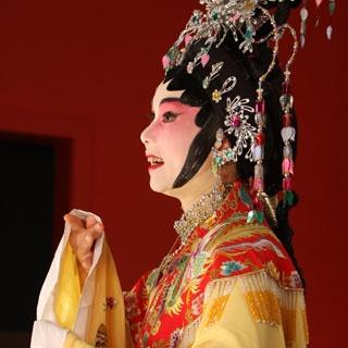 Turandot, the ruthless Chinese Princess from Puccini's opera of the same name.  Wonderful opera, too!