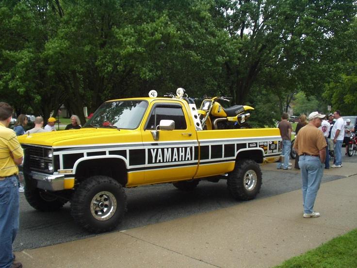 yamaha hauler chevrolet truck hubby 39 s fave bikes