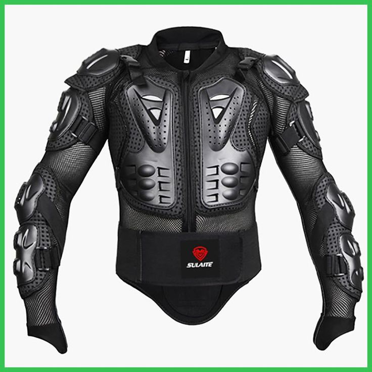 Black/RED Motorcycles Armor Protection Motocross Clothing Jacket Protector Moto Cross Back Armor Protector Motorcycle Jackets