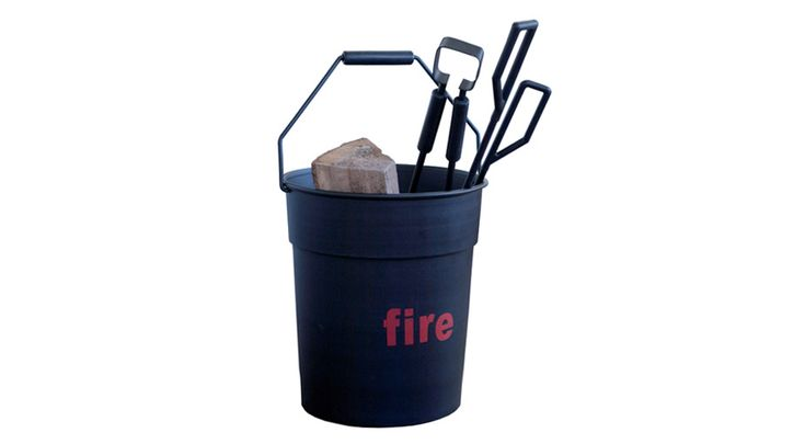 Offering a fresh and original take on traditional fireplace tools, Arik Levy's Fire Tools is a set of cast-aluminum accessories that come complete with a cast-aluminum bucket for storage.