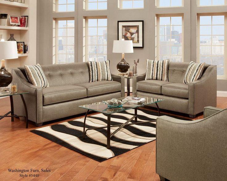 Sleek Style Living Room Set