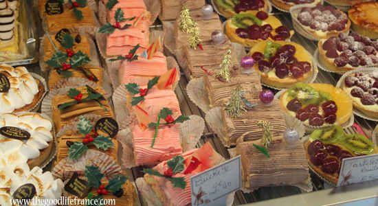 The Christmas Yule Log or Buche de Noel : The Good Life France ... History of Yule Logs