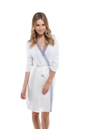 eco-friendly Eberjey Butterfly Valley Robe