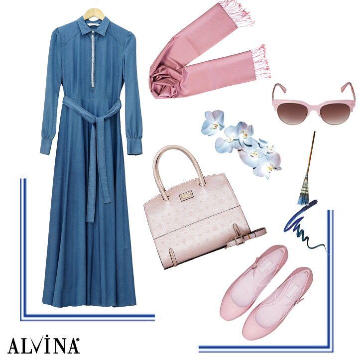 Vazgeçilmez denim şıklığı.. #alvina #alvinamoda #alvinafashion #alvinaforever #hijab #hijabstyle #hijabfashion #tesettür #fashion #stylish #new #kombin #denimrahatlığı #denimşıklığı