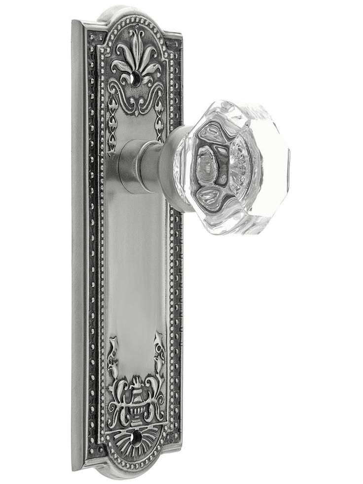 Meadows Style Door Set With Waldorf Crystal Glass Door