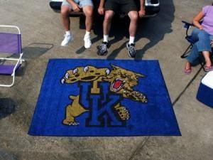 Kentucky Wildcats Area Rug - Tailgater, Mascot Design
