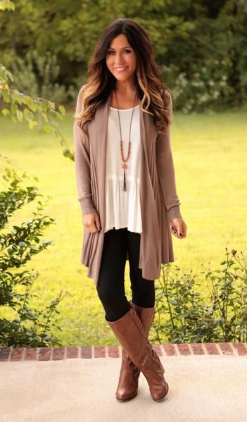 Our Kelsie Cardigan is a perfect layering piece! Lightweight, great drape and be…