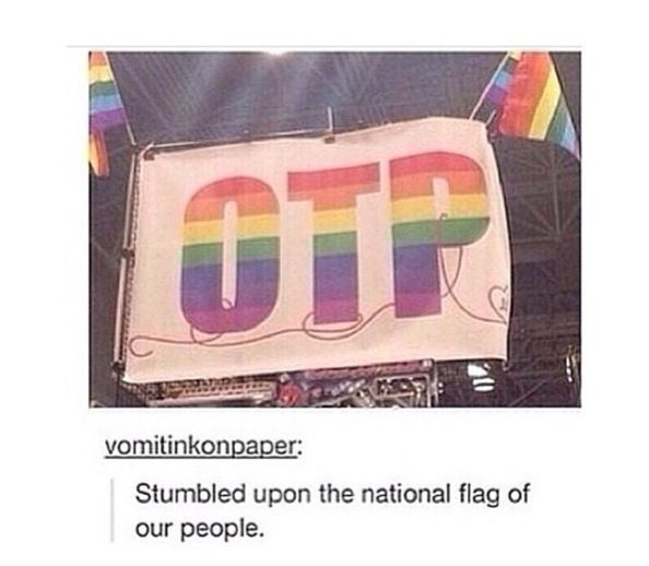 The national flag of our people<<< I rarely ship anything but this was too cool to scroll past