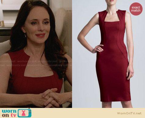 Victoria's red dress on Revenge. Outfit Details: http://wornontv.net/28295 #Revenge #fashion