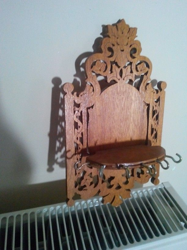 6 mm plywood key hanger