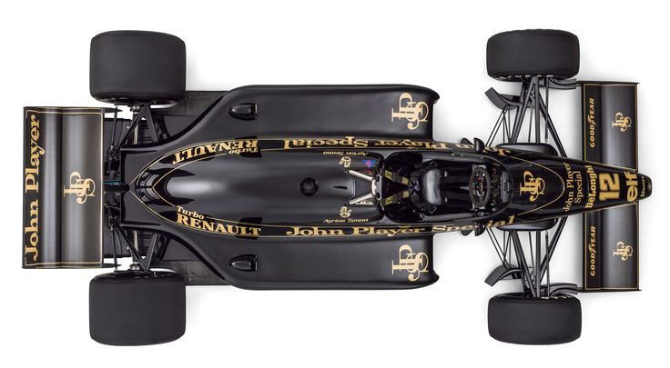 Lotus 98T from Above | by dtperformanceltd