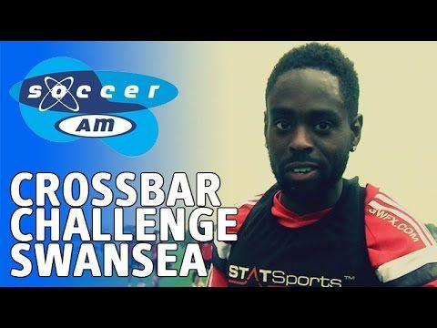 Soccer AM - Crossbar Challenge - Swansea