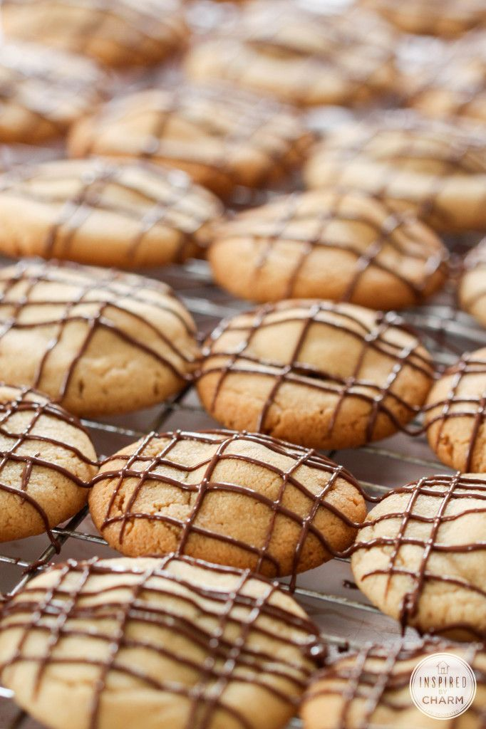 Peanut Butter Cup Cookies (there's a peanut butter cup baked inside!!) YES!!!