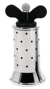 Alessi pepermolen zwarte knop - afb. 1