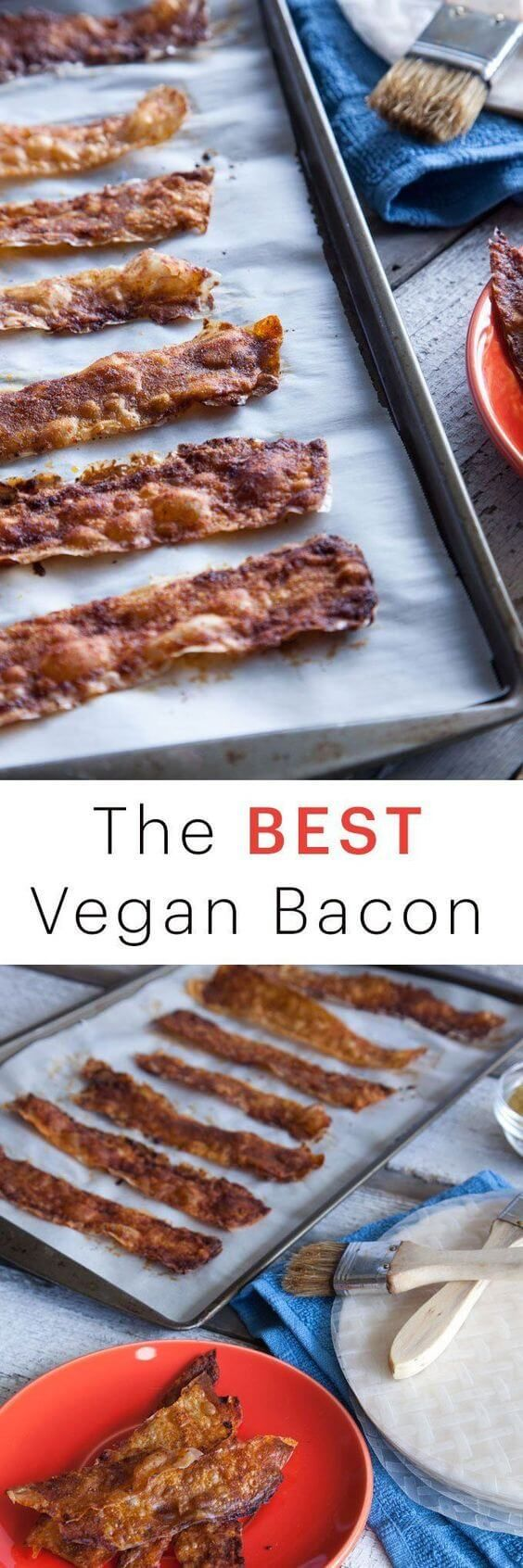 cool The Best Vegan Bacon: How To Make Vegan Bacon Using Rice Paper